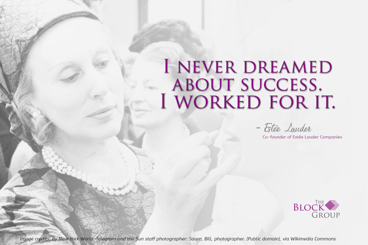 Advice from: Estée Lauder