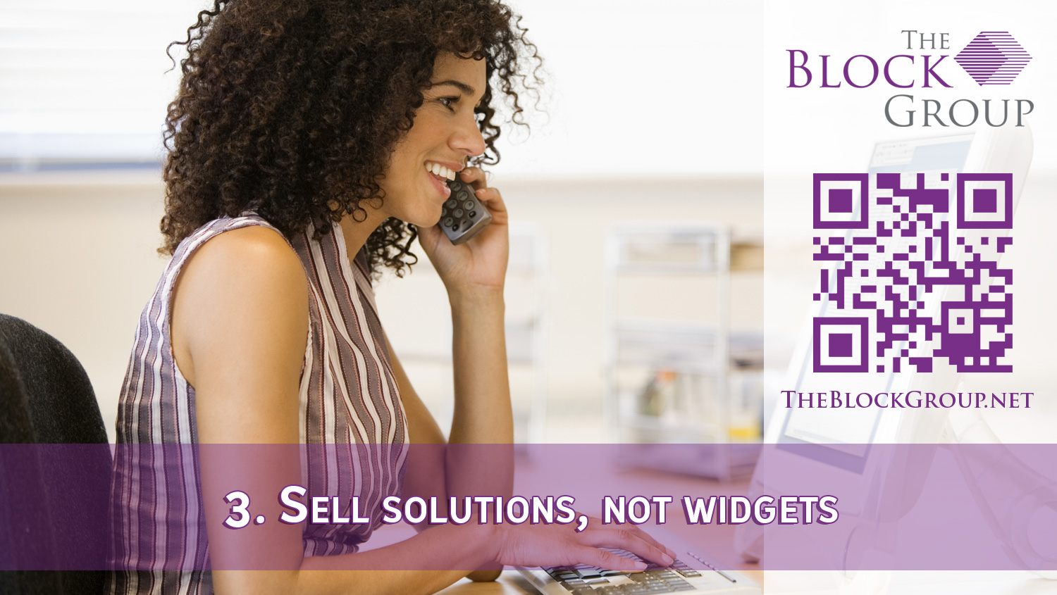 003.-Sell solutions not widgets